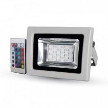 RGB LED Strahler 10W mit IR Fernbedienung
