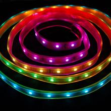 Wasserdichter RGB LED Streifen 5050 60 SMD/m 5m Pkg.