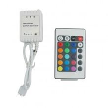 LED IR Fernbedienung RGB 72W