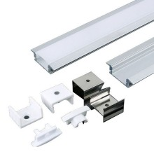 Versenkbares Aluminiumprofil MICRO K 2m Set