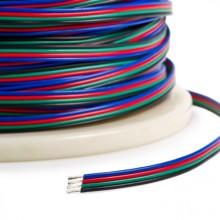 Versorgungsleiter Viertlinie 4x0,35mm für RGB Streifen