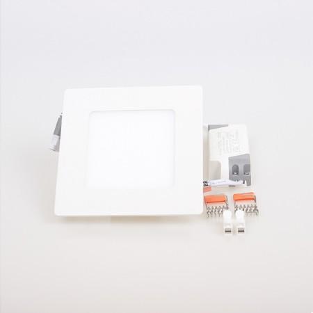 LED Einbaupanel eckig 6W