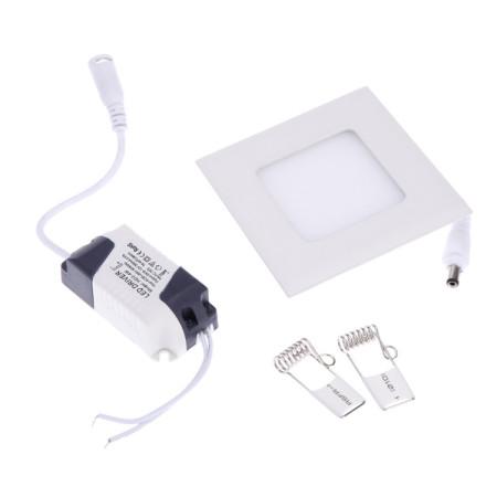 Mini LED Einbaupanel eckig 3W