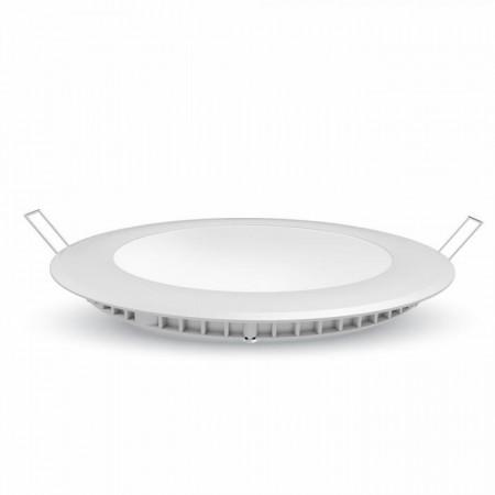 LED-Einbaupanel 6W, rund, Ø12cm