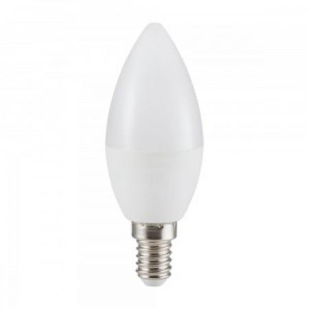 LED Glühlampe milchweiß E14 C37 4W
