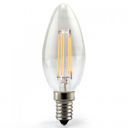LED Filament Glühlampe E14 4W