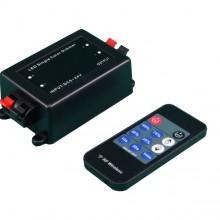 LED Dimmer mit RF Fernbedienung und Zeitschalter 12V/24V 8A