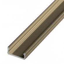 Alumuniumprofil bronzefarben