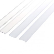 Kunststoff Diffusor für färbige Aluminiumprofile