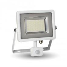 LED Strahler 50W mit Bewegungsmelder weiß