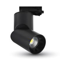 Runder LED Strahler 23W für den Innenbereich schwarz