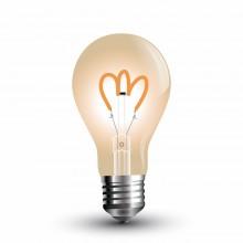 Jantar LED Filament Glühlampe E27 A60 3W