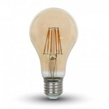 Jantar LED Filament Glühlampe E27 A67 8W