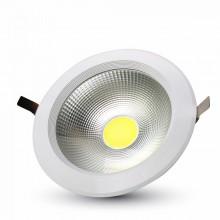 Runde LED Einbauleuchte 10W mit hoher Lichtstärke weiß