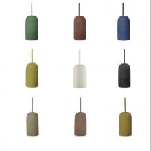 Beton Hängeleuchte Vase (9 Farben)