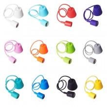 Silikon Hängeleuchte (12 Farben)