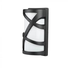 Außenwandleuchte für E27 LED-Lampe, schwarz