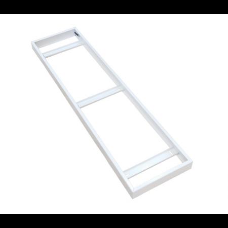 Rahmen für die Aufputzinstallation der LED Paneele 120x30cm