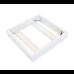 Rahmen für die Aufputzinstallation der LED Paneele 60x60cm
