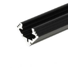 Eck-Aluminiumprofil 45 ALU 2m schwarz