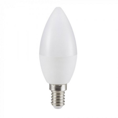 Profi LED-Kerzenlampe milchglas 4,5W SAMSUNG Chips 110lm/W,A++