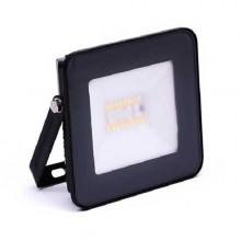 Schwarz smart RGB+W LED Strahler 20W