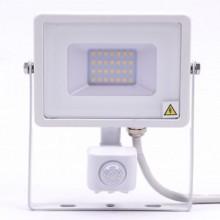 Profi LED Strahler 20W mit Bewegungsmelder mit SAMSUNG Chips weiß