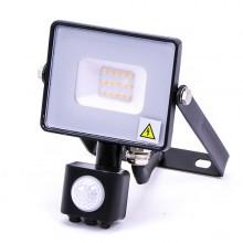 Profi LED Strahler 10W mit Bewegungsmelder mit SAMSUNG Chips