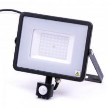 Profi LED Strahler 50W mit Bewegungsmelder mit SAMSUNG Chips
