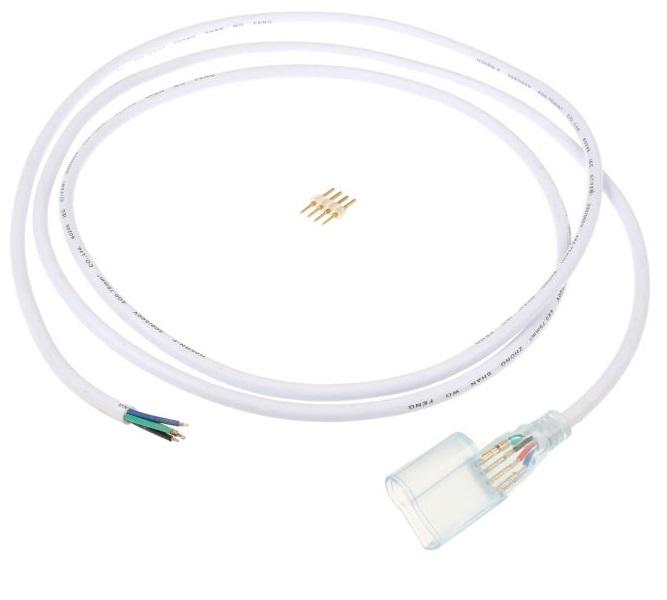 Versorgungskabel Für Neon Flex Rgb Led Streifen 230v 2m