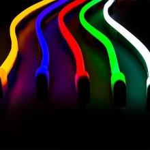 Neon flex LED Streifen 3528 120 SMD/m 230V 1m
