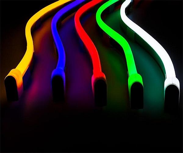 Profi Neon Flex Led Streifen 3528 120 Smdm 12v 1m Mit Samsung Chips