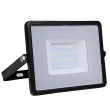 Profi LED Strahler 50W mit hoher Lichtstärke (120lm/W) und SAMSUNG Chips schwarz