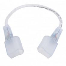Verbinder mit Kabel für neon flex LED Streifen 230V
