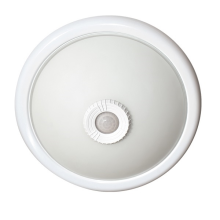 Aufbauleuchte mit PIR Bewegungsmelder für 2Stk. E27 LED-Lampen