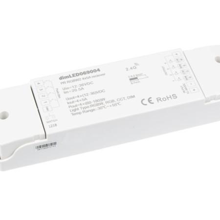 Empfangsgerät für RF Fernbedienung für RGB+W LED Streifen
