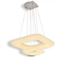 Doppel dimmbare LED-Hängeleuchte 68W, eckig