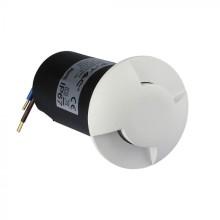 LED Bodenleuchte 1W 12V weiß 2-Wege