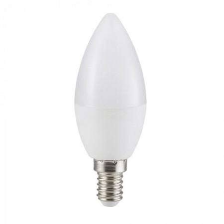 LED-Kerzenlampe milchglas E14 5,5W CRI95