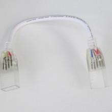 Verbinder mit Kabel RGB LED Neon flex 230V