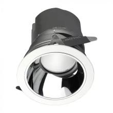 LED-Einbauleuchte 10W, 0-27°, rund, CRI95